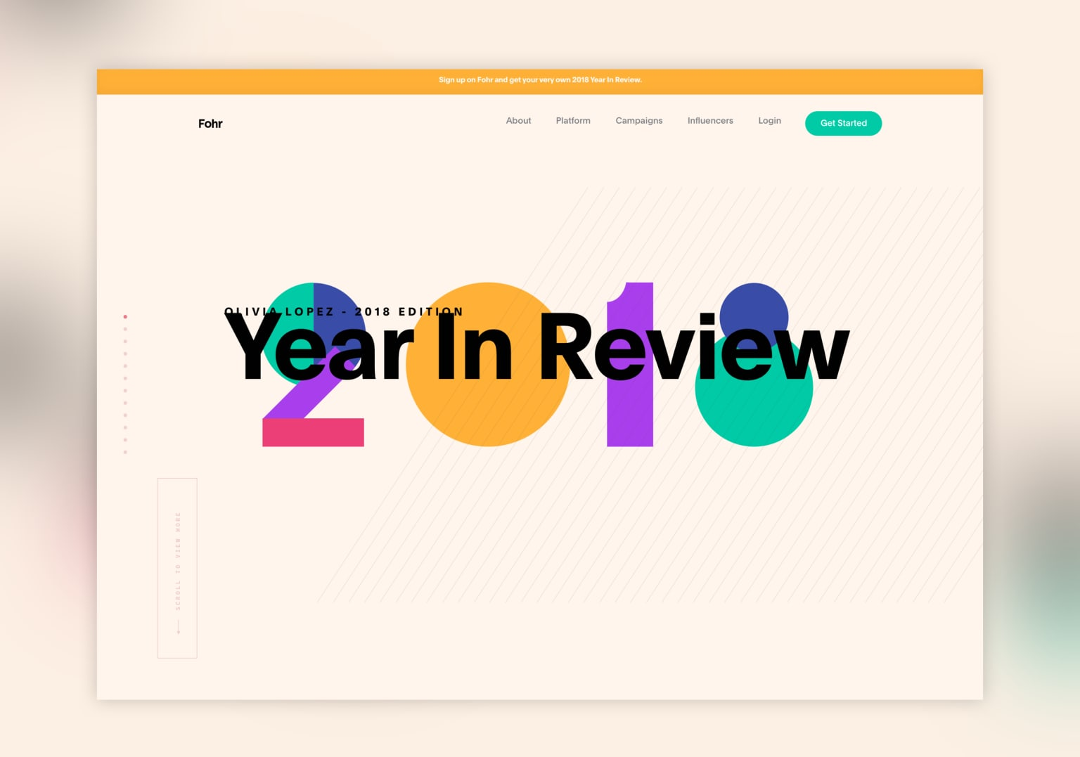 Fohr 2018 Year in Review