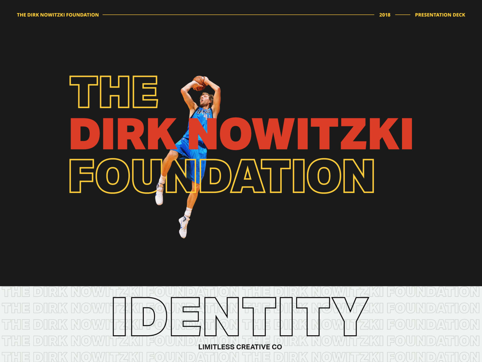 Dirk Nowitzki Foundation [Brand Proposal]