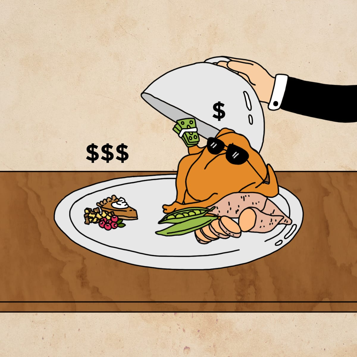 The Price Of Your Turkey Dinner