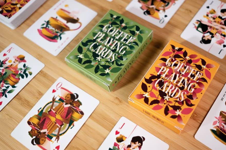 Coffee Playing Cards