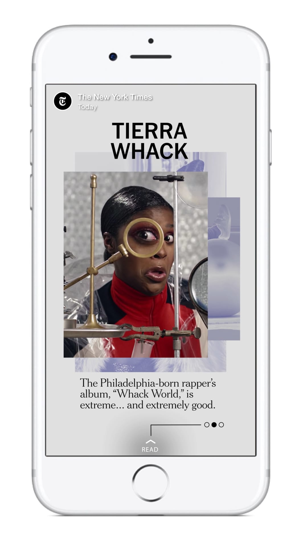 New York Times Snapchat Reel