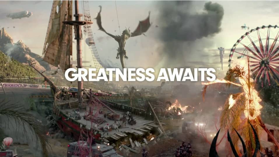 "PlayStation - ""Greatness Awaits"""