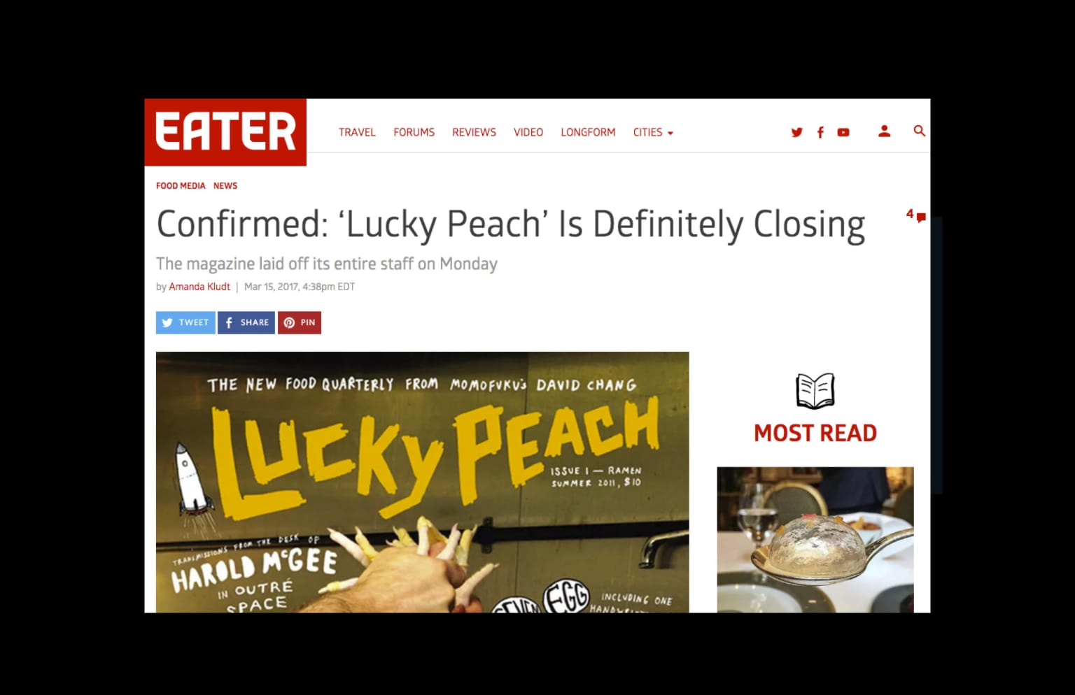 Lucky Peach: Winners Are Losers