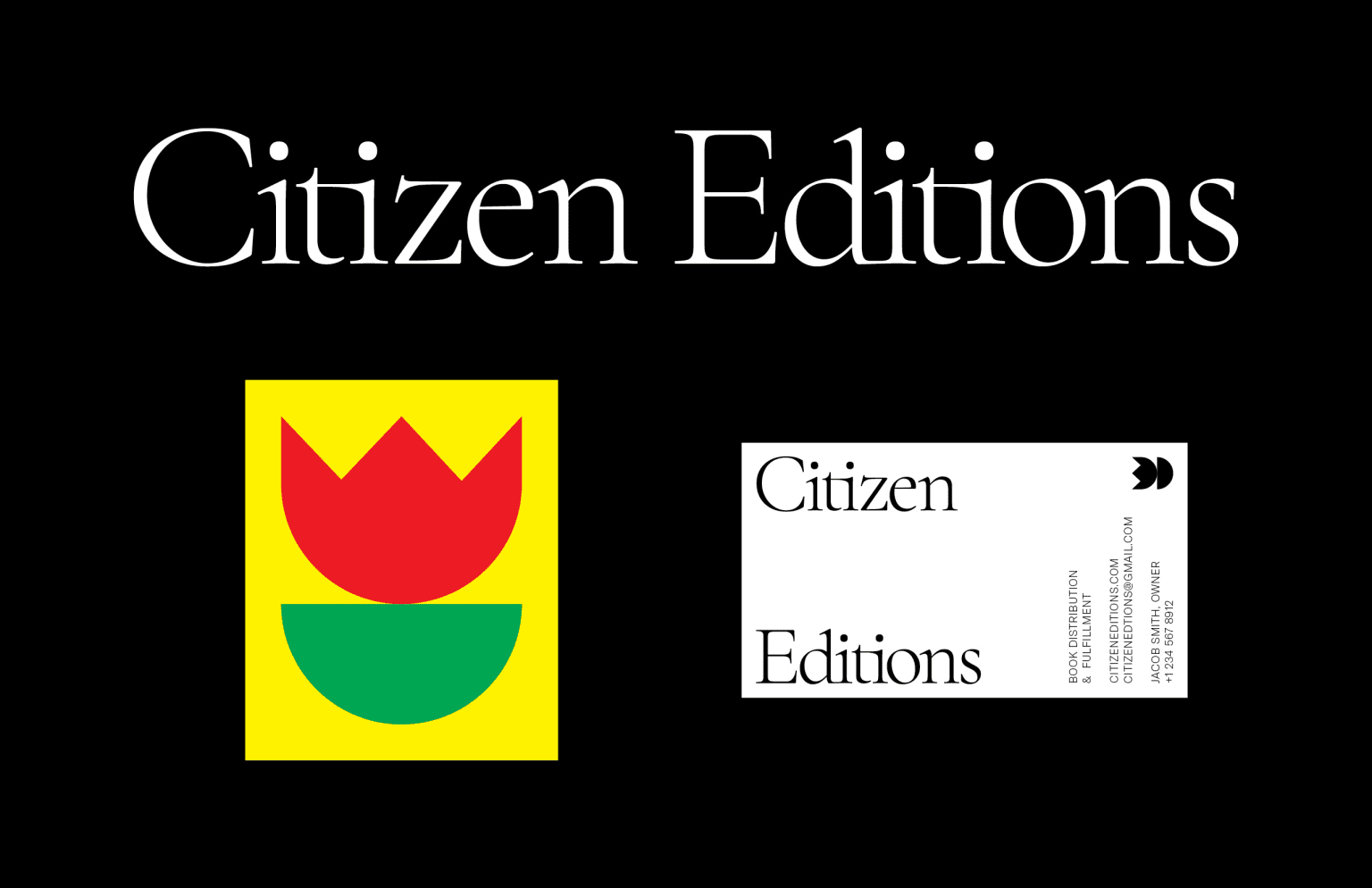 Citizen Editions Identity