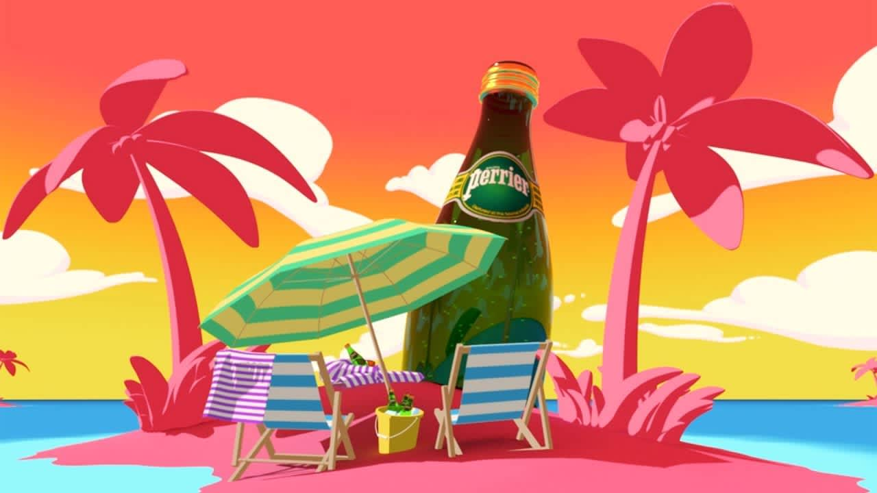 Perrier - Bubbles From Another World