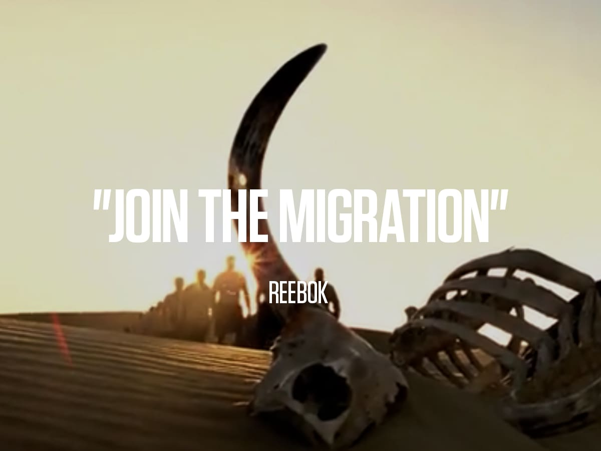 "Reebok ""Join The Migration"""