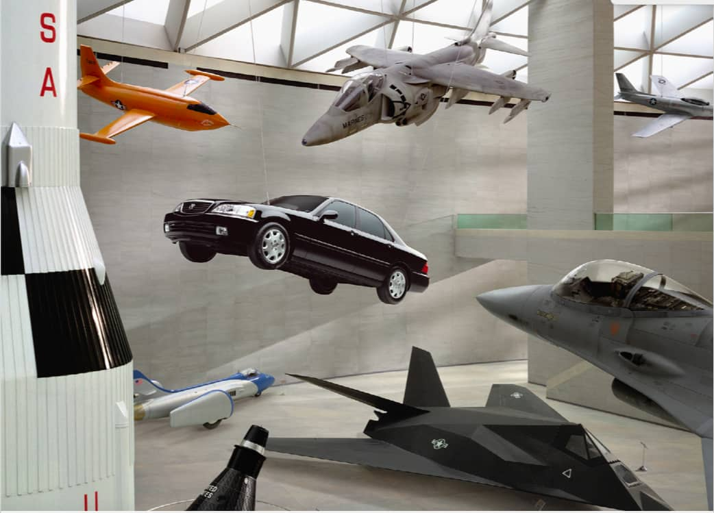 Acura TL - Air and Space Museum