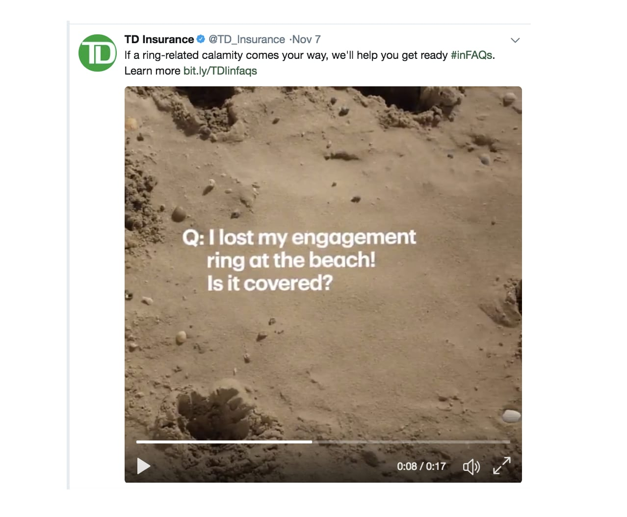 TD Bank | Insurance | #inFAQs Educational Digital Campaign