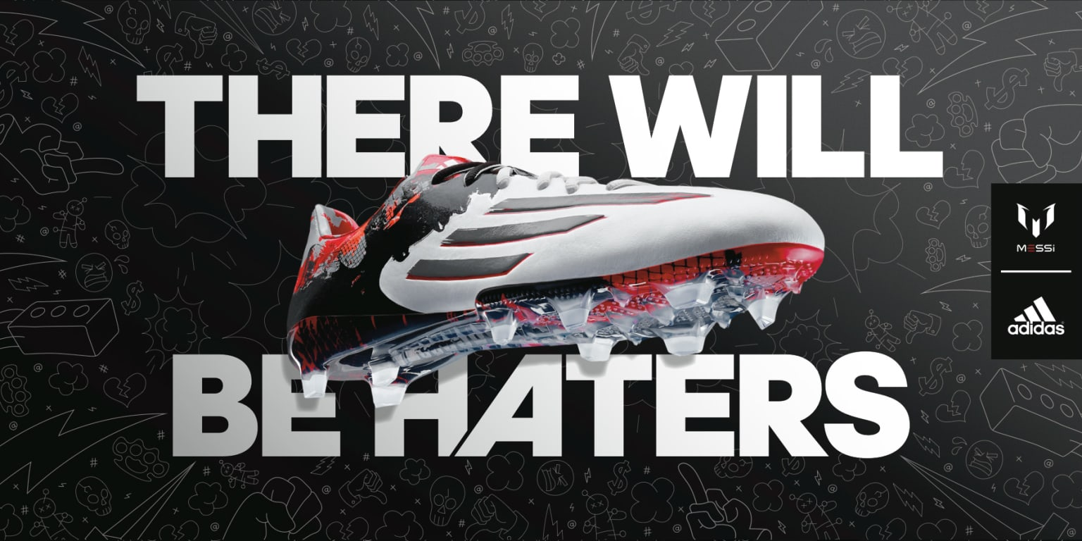 Adidas Football: There Will Be Haters