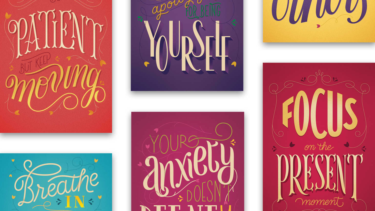 Lettering to Anxiety