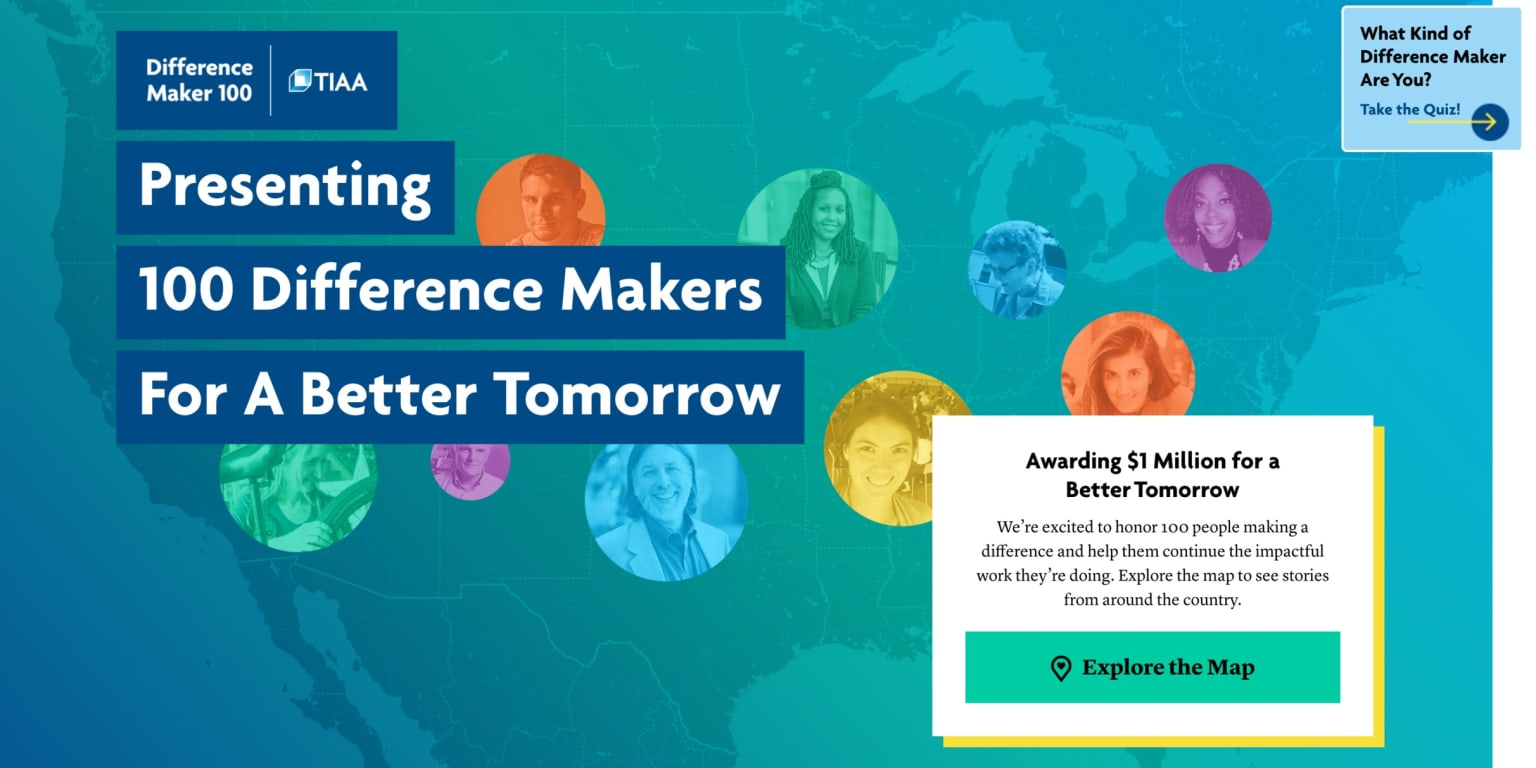 TIAA Difference Maker 100