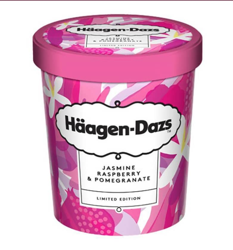 Haagen Dazs Limited Edition Packaging