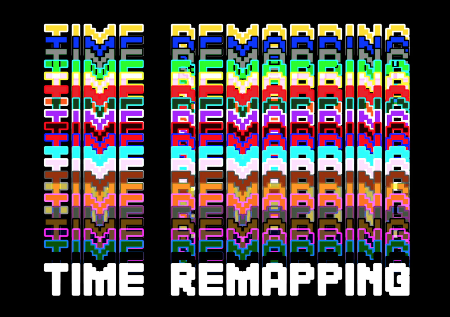Time Remapping: A Video Journal