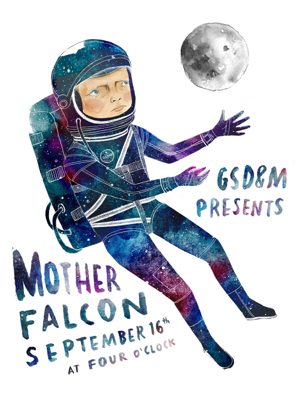 Mother Falcon Poster