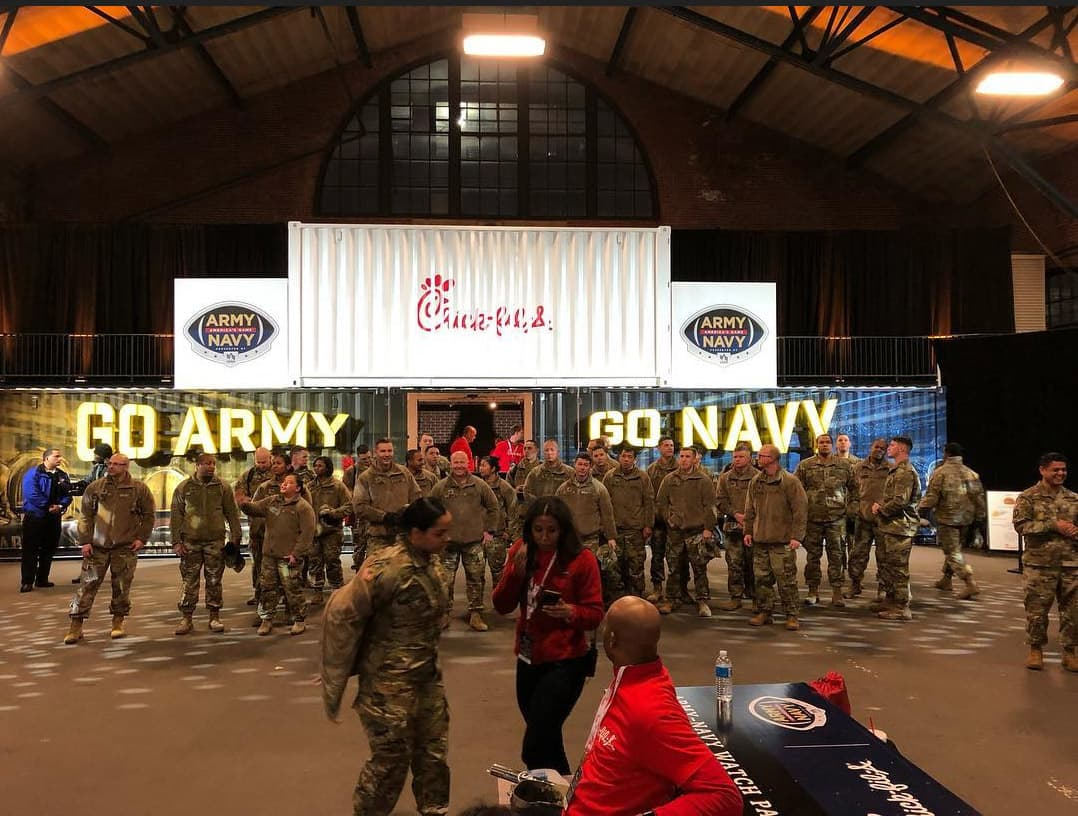 Chick-fil-A Army / Navy Game Watch Party