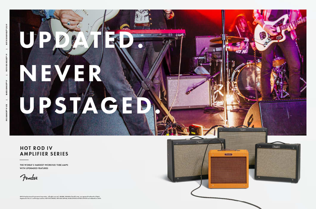 Fender Print Campaigns