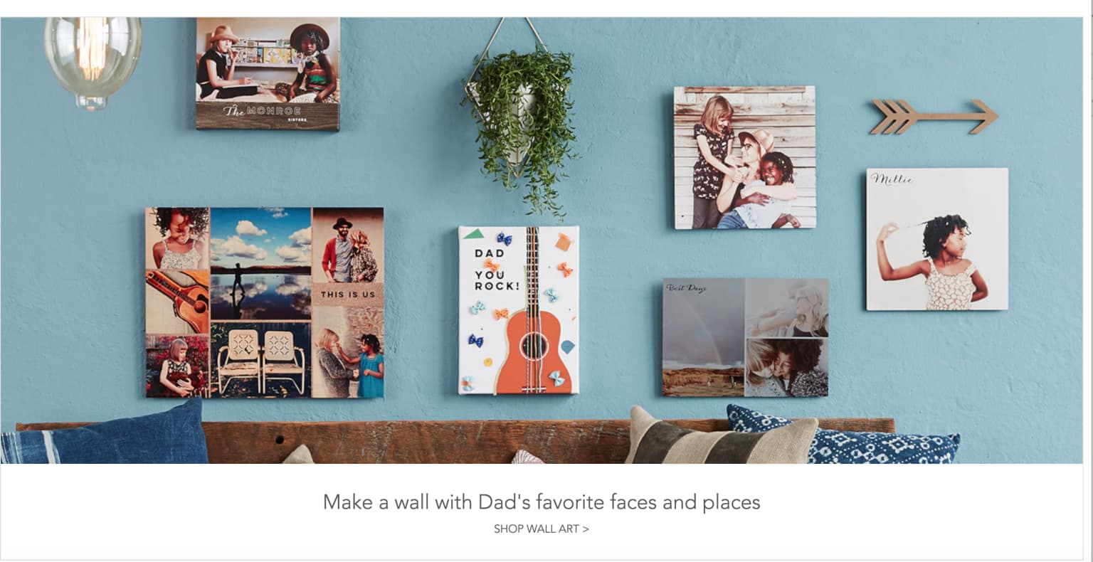 Web & Newsletter Copy - Shutterfly