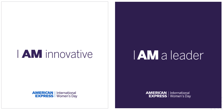 American Express International Women's Day 2019