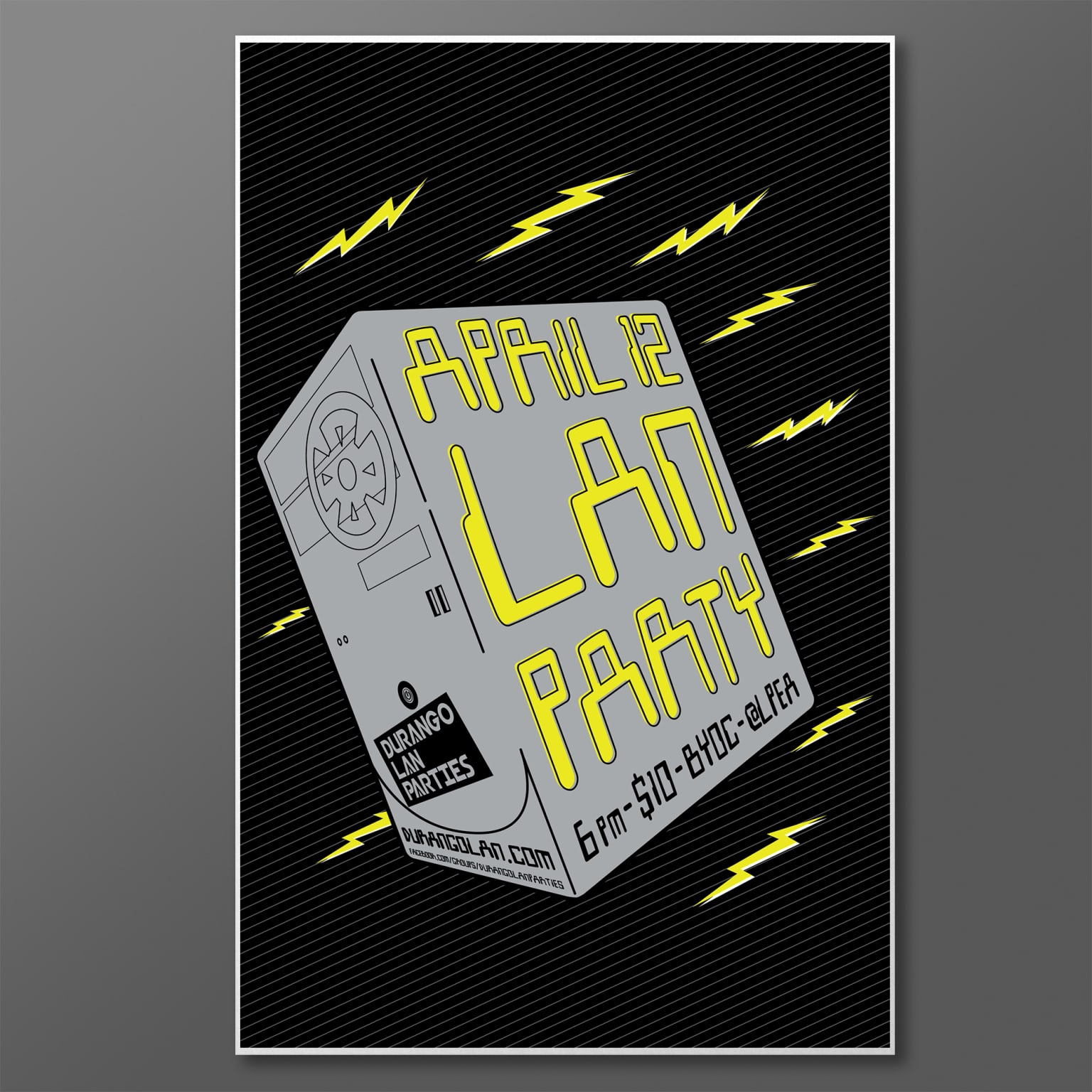LAN Party Posters