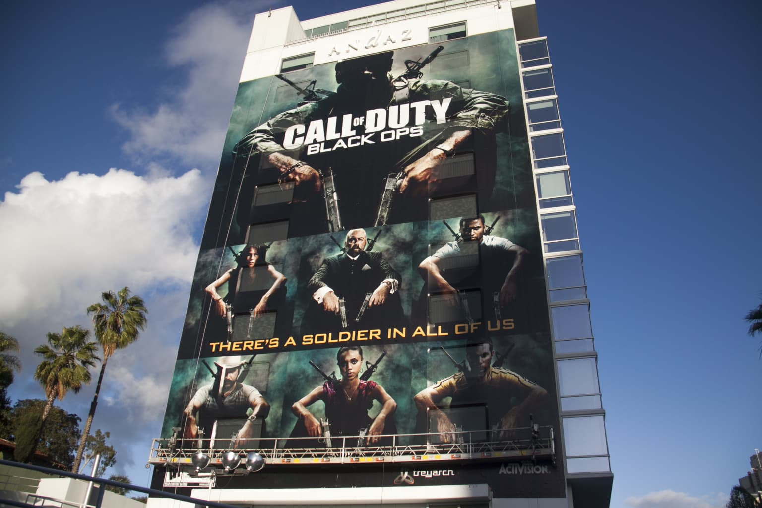 Call of Duty: There's A Soldier in All of Us.