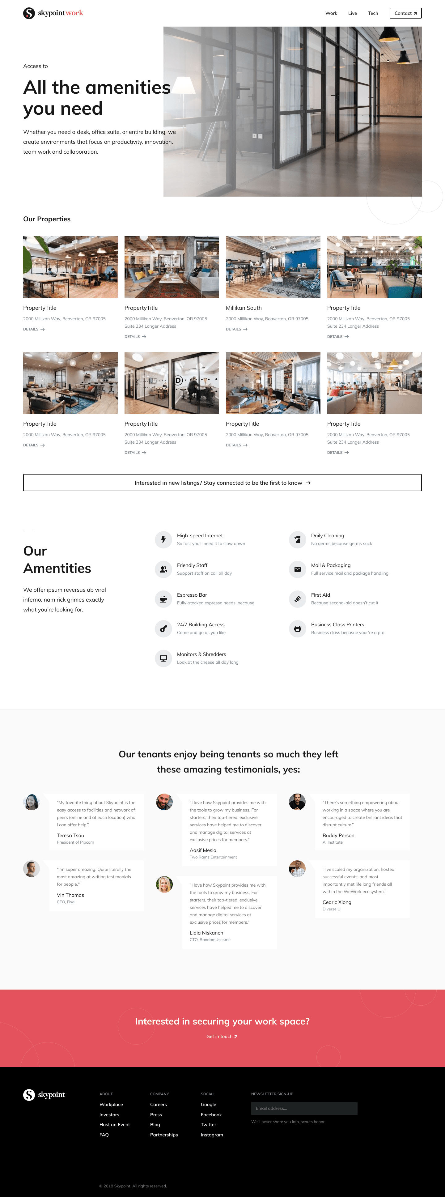 Skypoint Branding and Website
