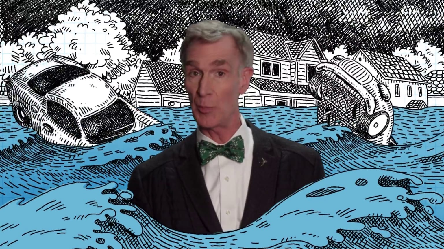 Bill Nye for National Geographic
