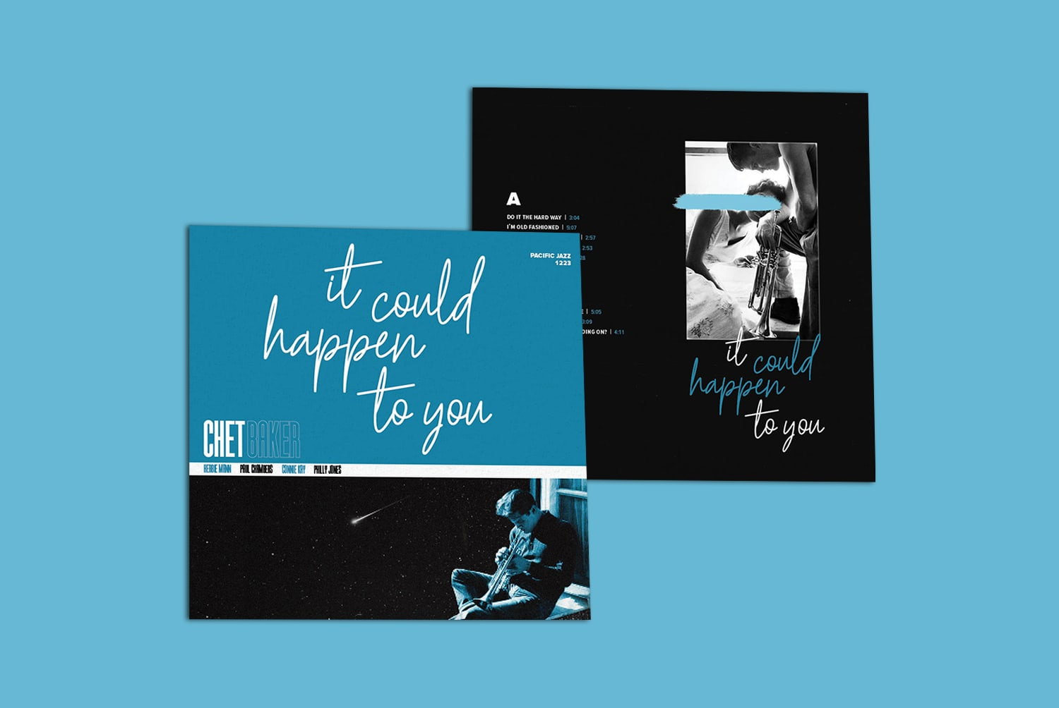 Chet Baker - It Could Happen To You - Redesign