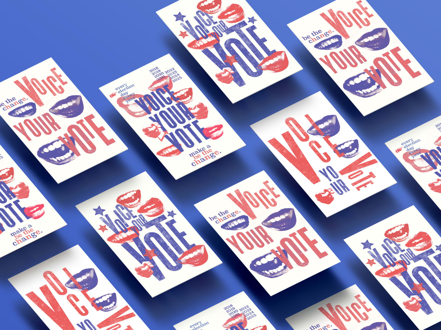 Voice Your Vote - Poster Series