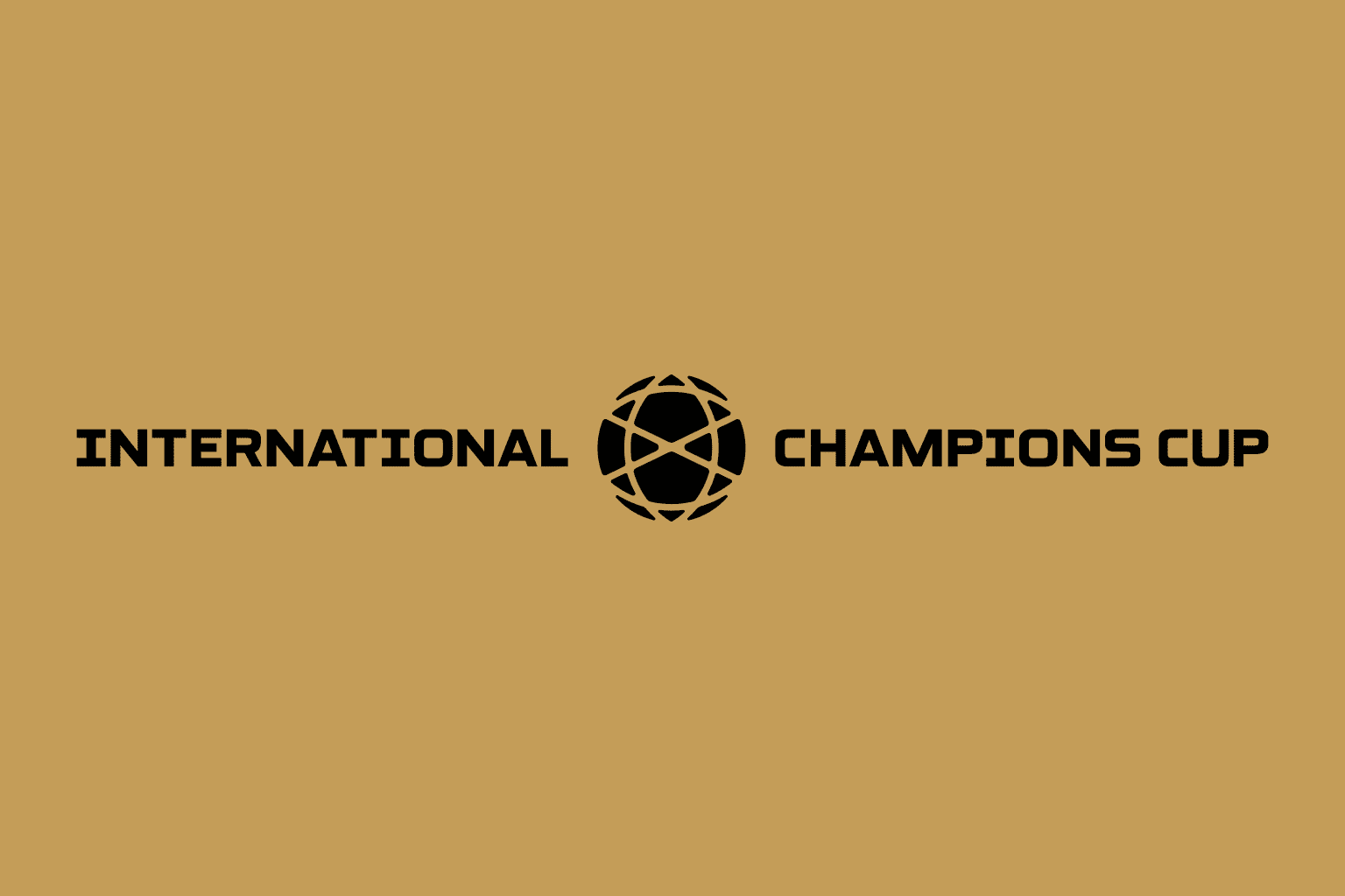 International Champions Cup Typeface