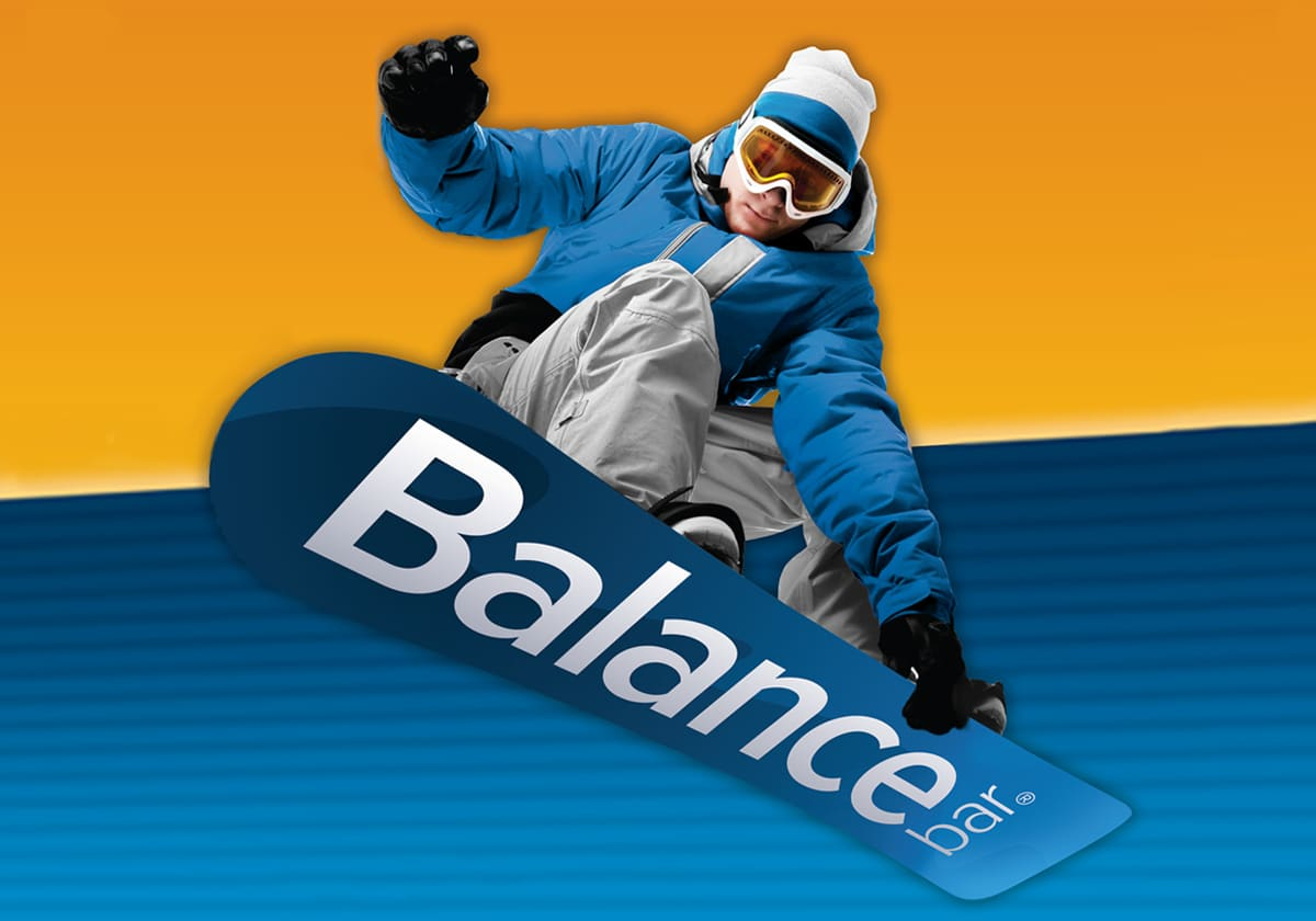 Balance Bar: Ski Resort Poster Advertising Campaign