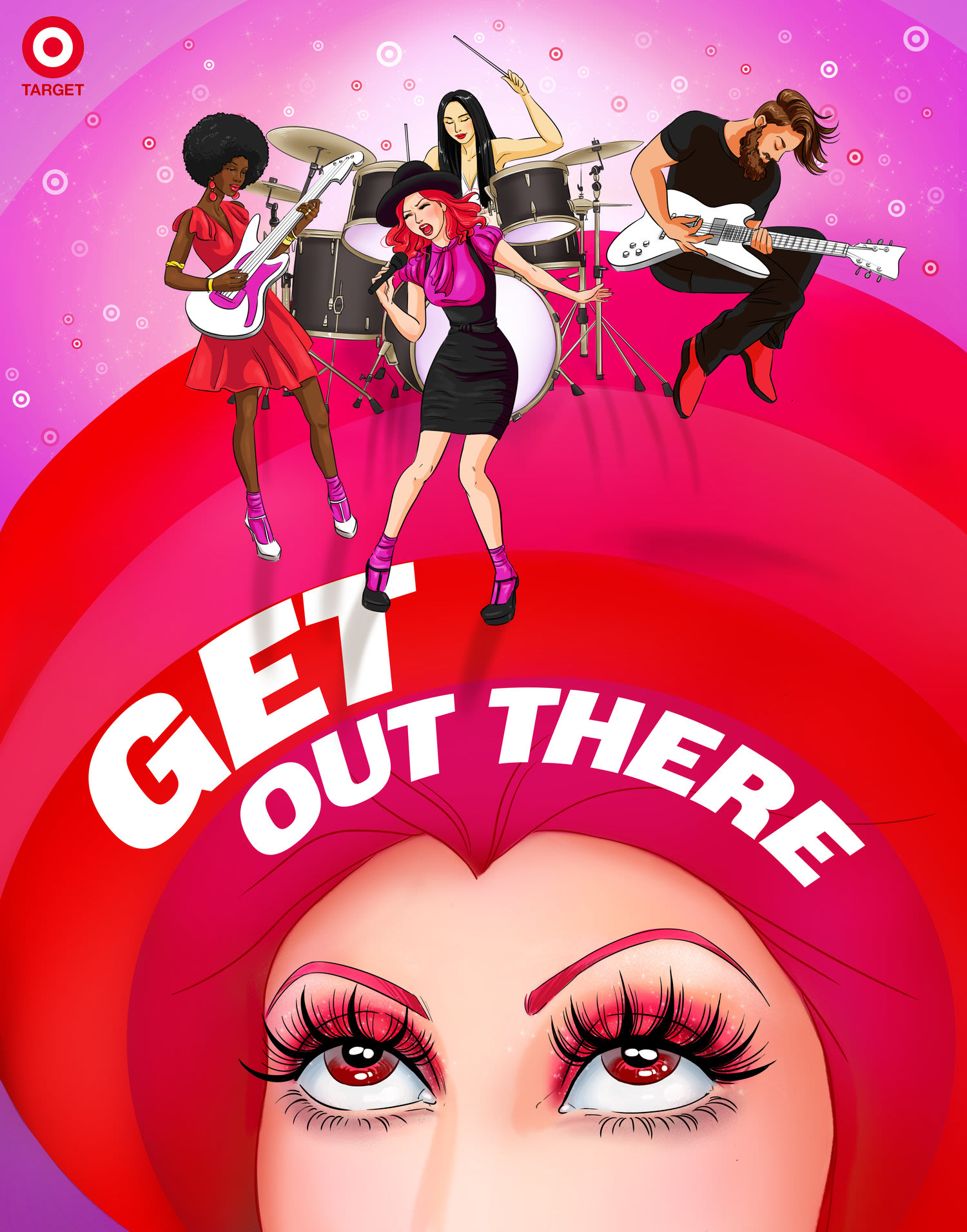Target Style 'Get out there'