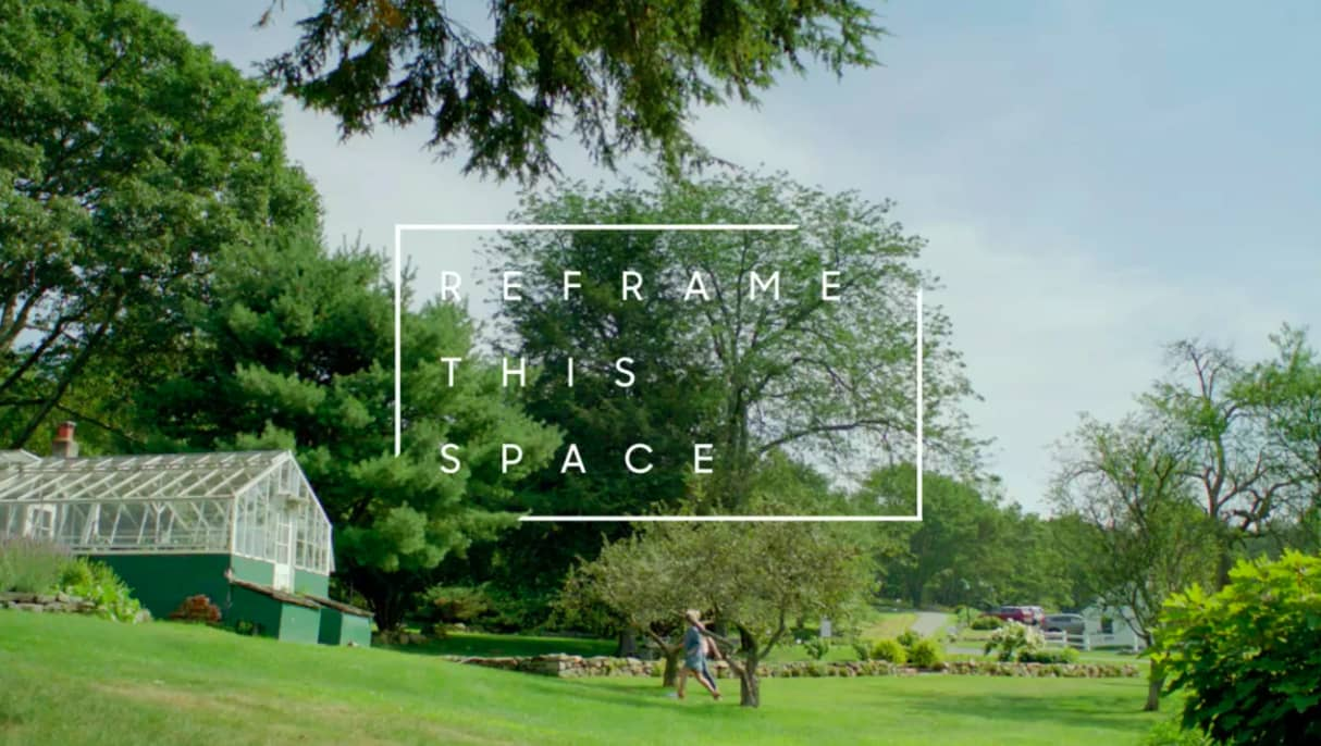 ReFrame This Space with the Frame TV