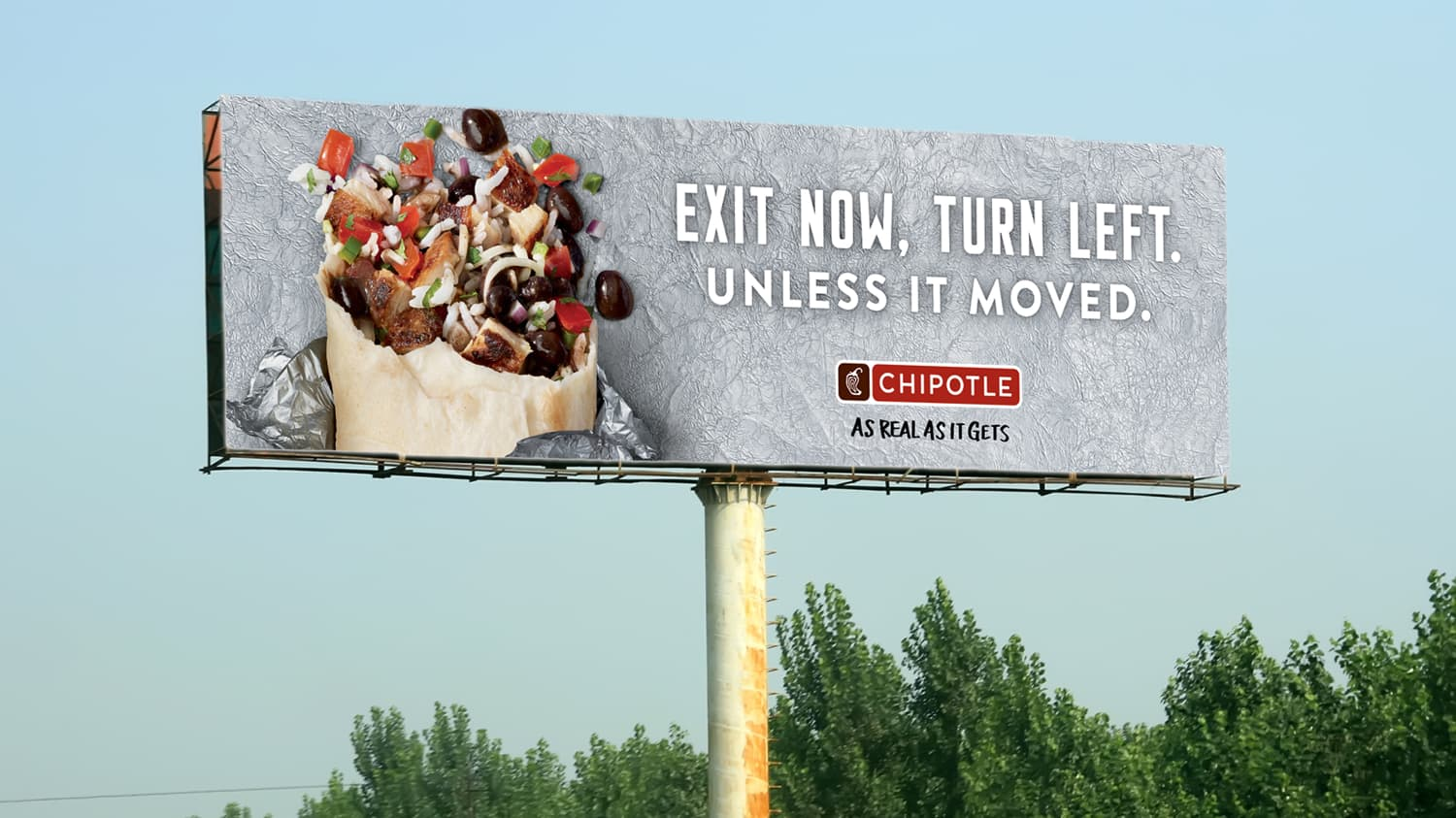 Chipotle - As Real As It Gets
