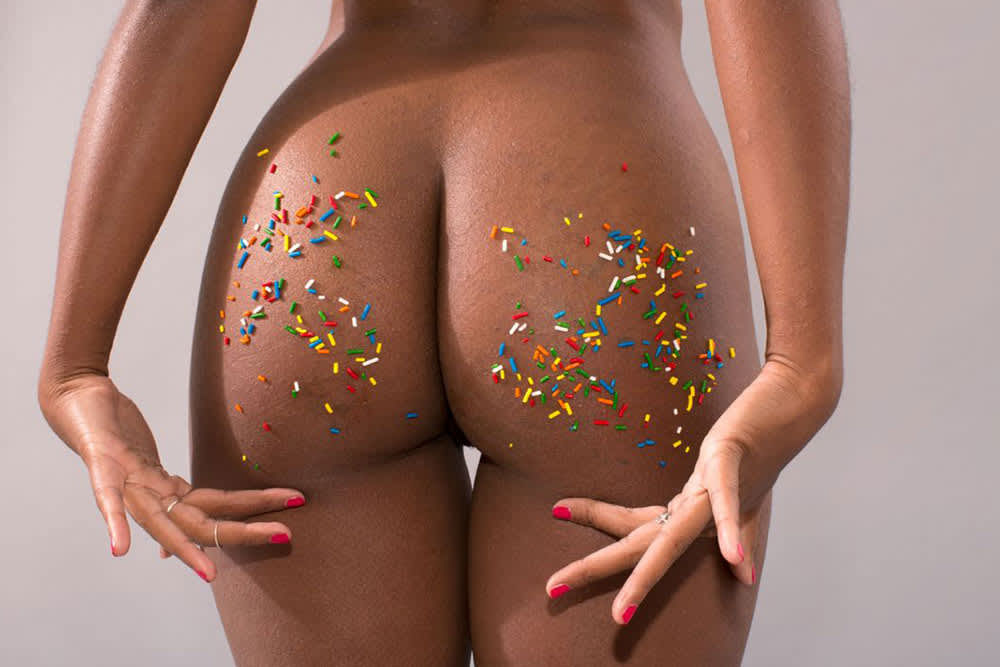 "Refinery29 ""What Unretouched Butts Look Like In Case You Forgot"""