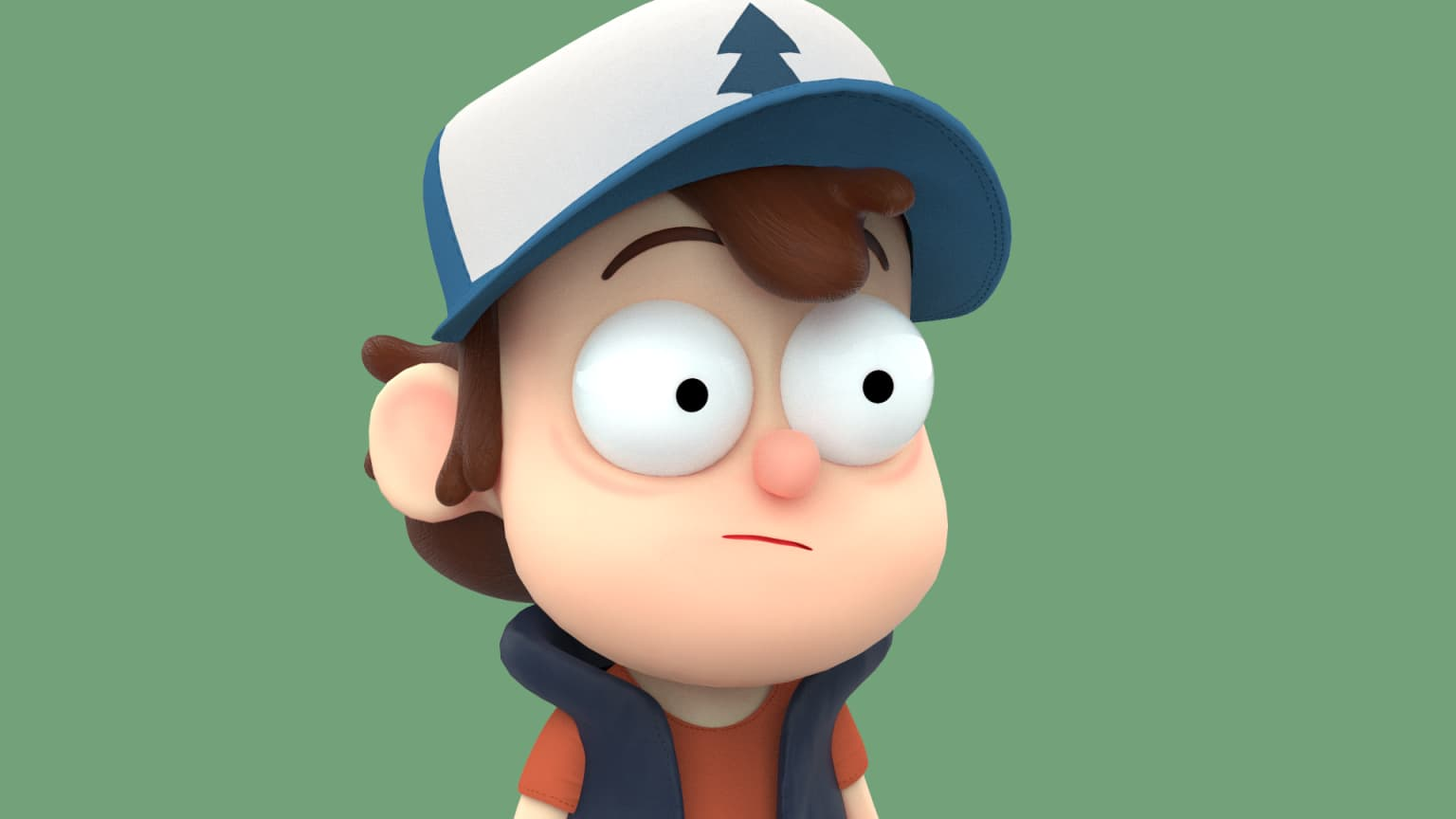 3D: Dipper and Mabel Pines