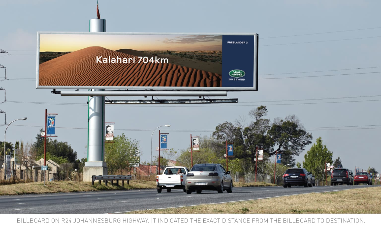 "Land Rover ""Turning urban billboards into the beginning of Adventure"""