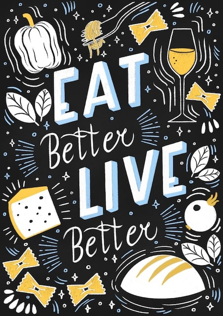 Eat Better Live Better - Personal Project
