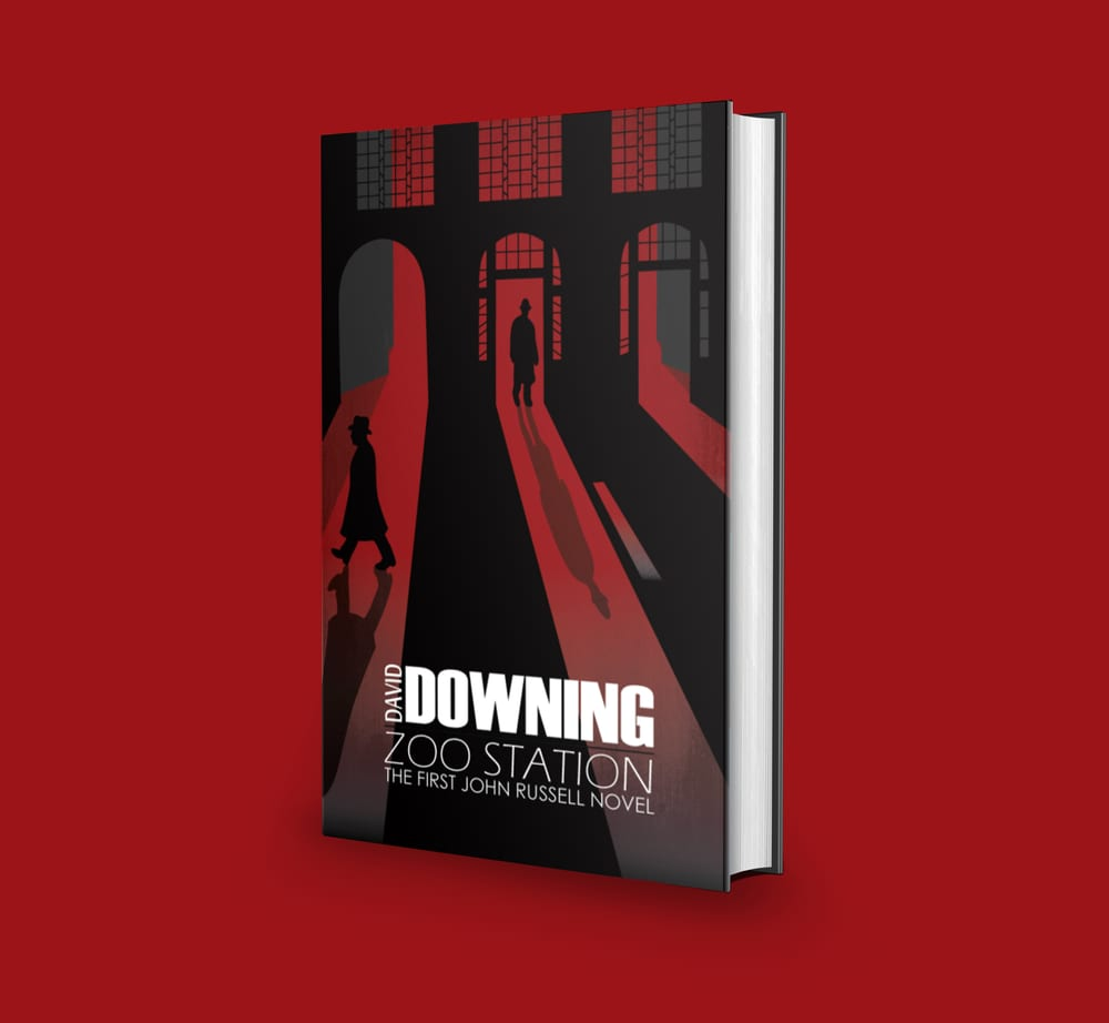 """John Russell """"Station"""" Series Book Covers"""