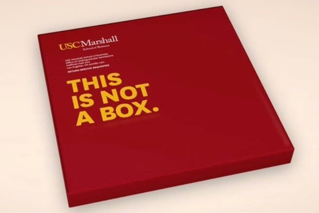 USC Marshall School of Business Conversion Campaign