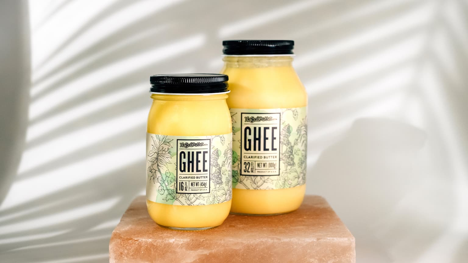 Magical Butter Ghee Labels