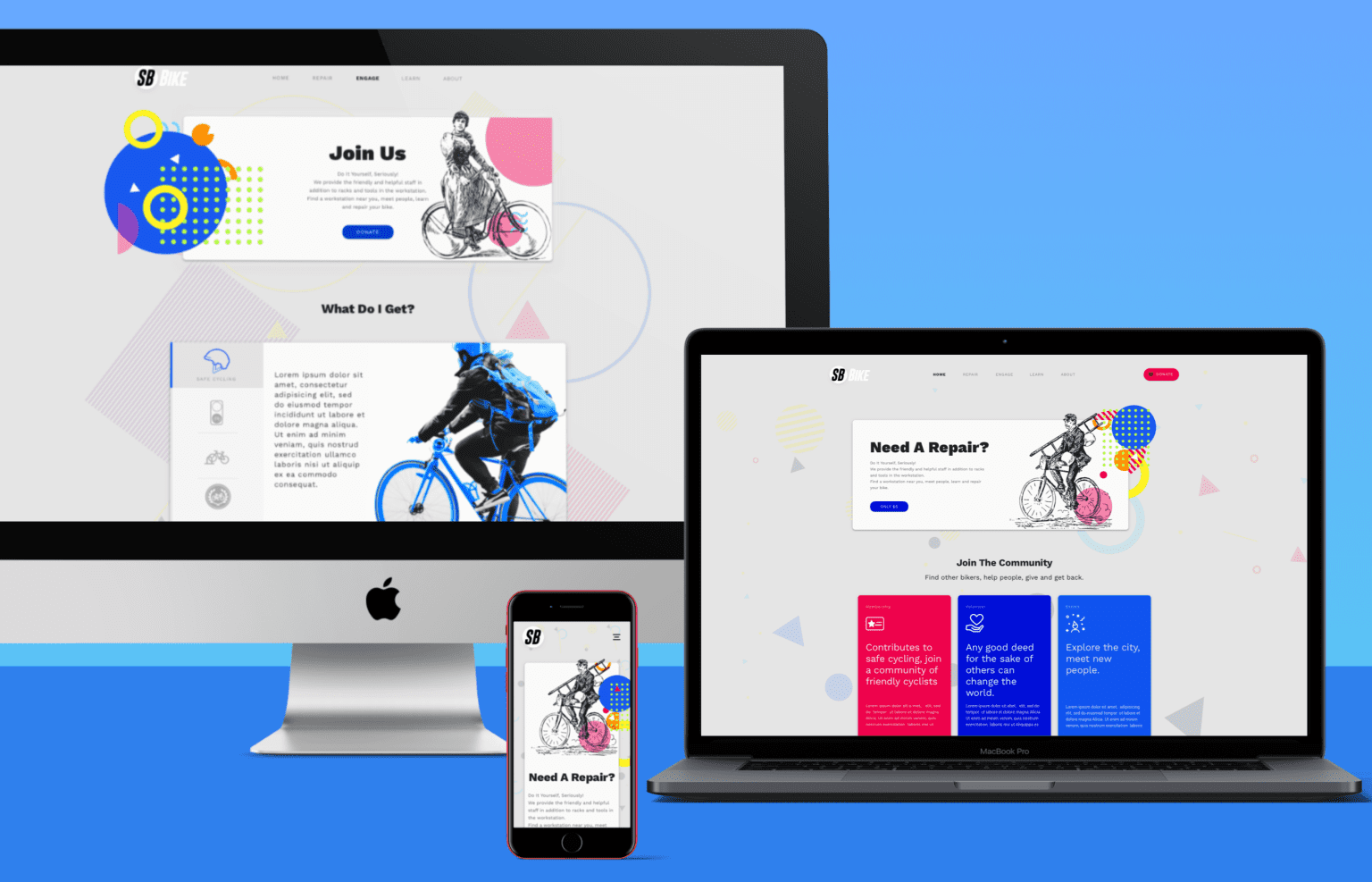 SB Bike Responsive Website