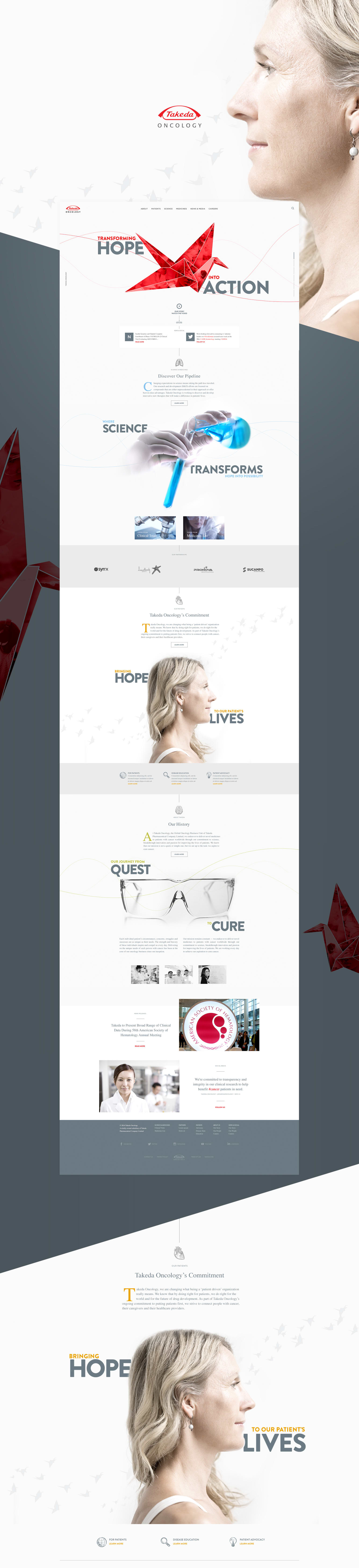 Oncology Website Redesign