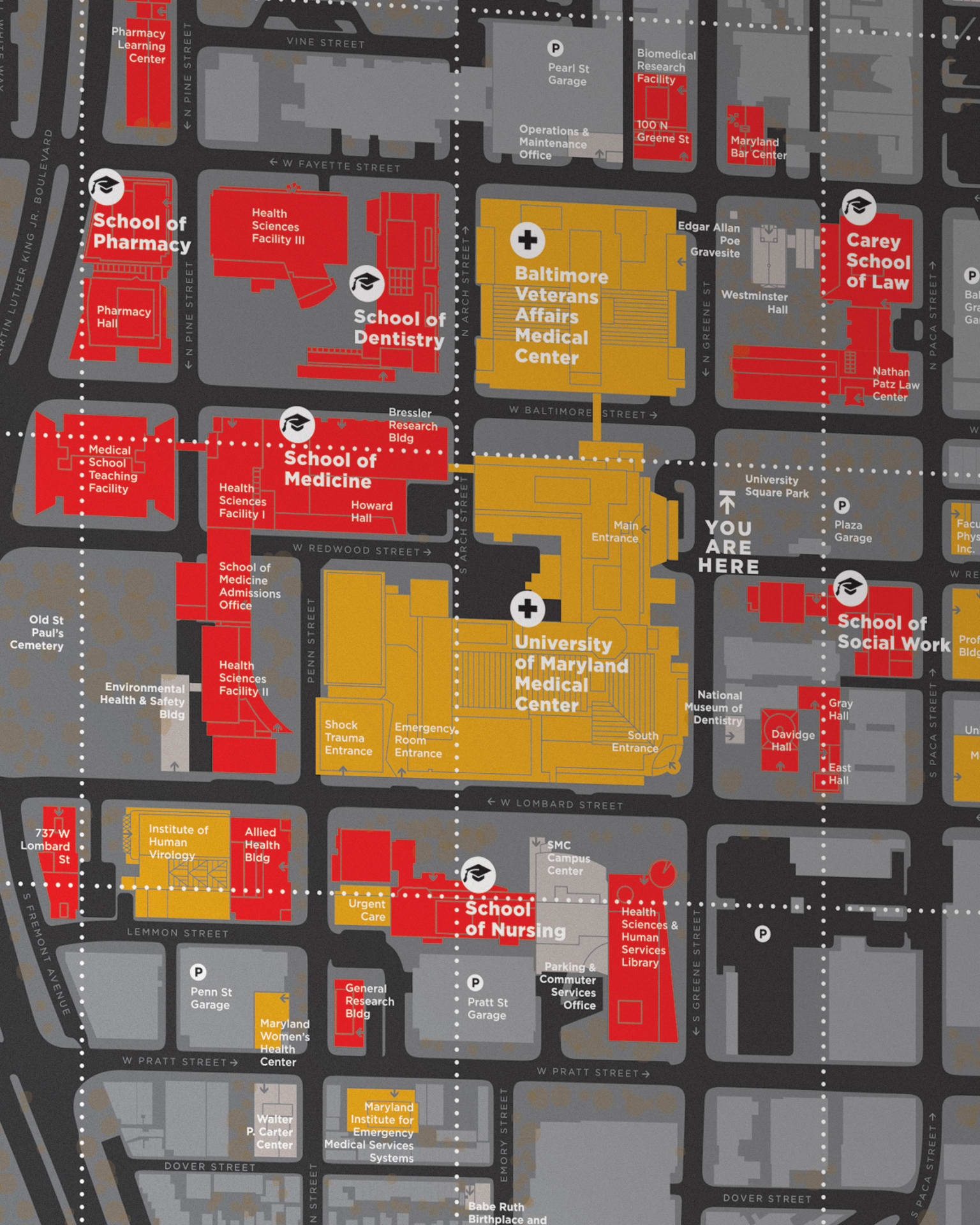 University of Maryland Campus Mapping