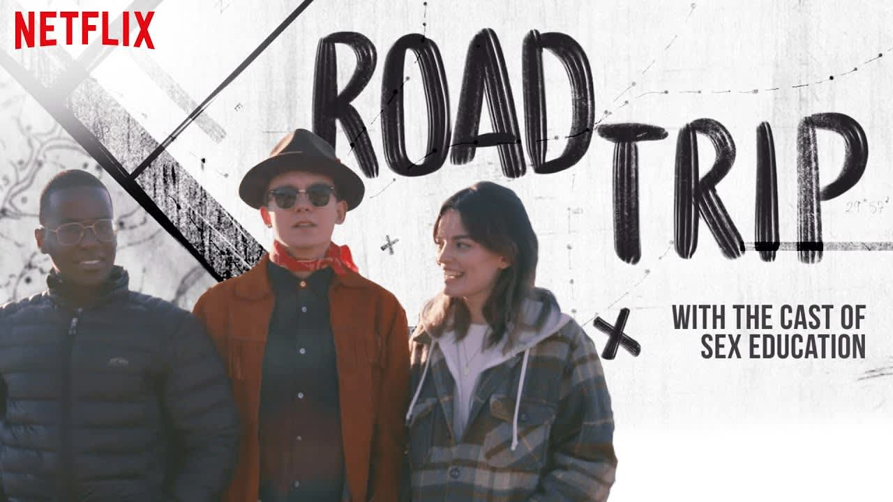 Sex Education Cast First Times in America | Road Trip | Netflix