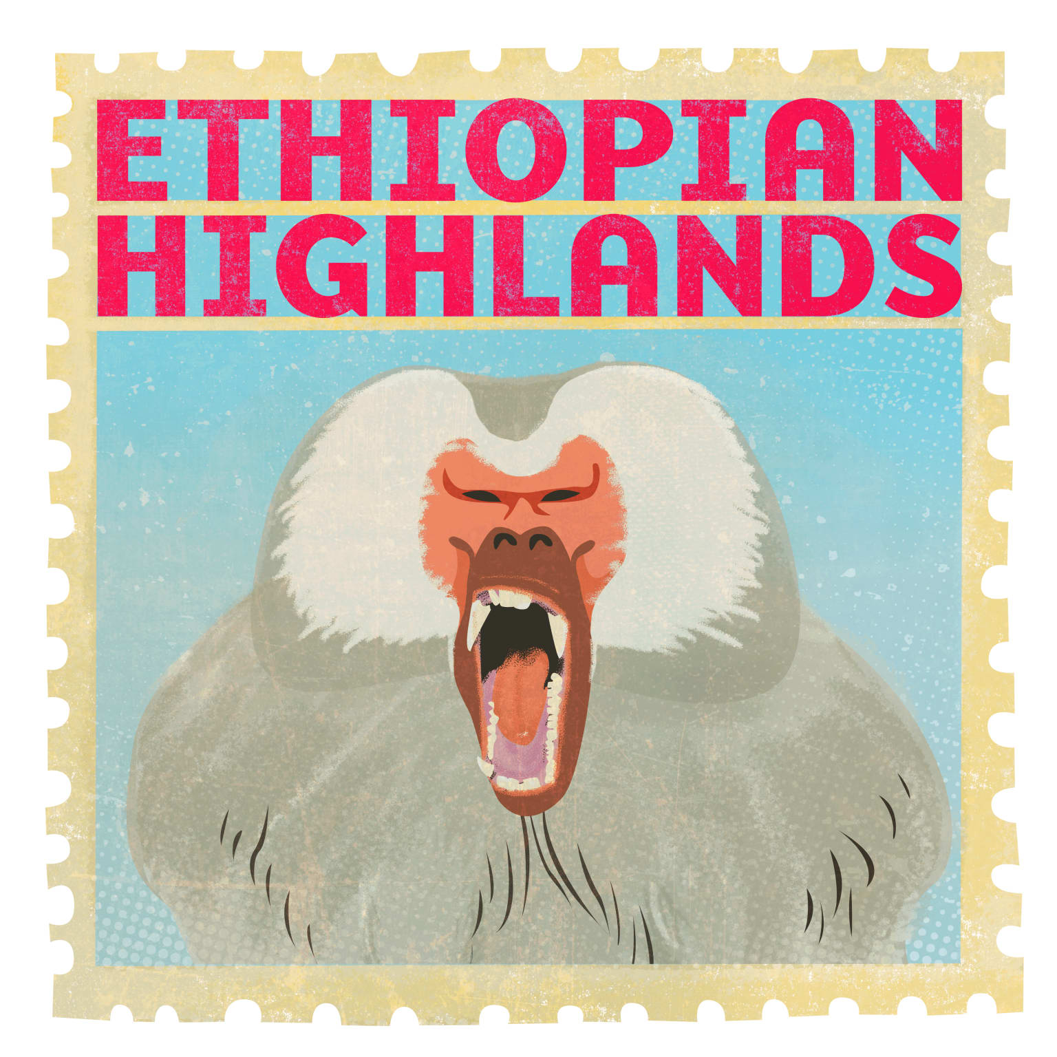 San Diego Zoo - Africa Rocks Stamps
