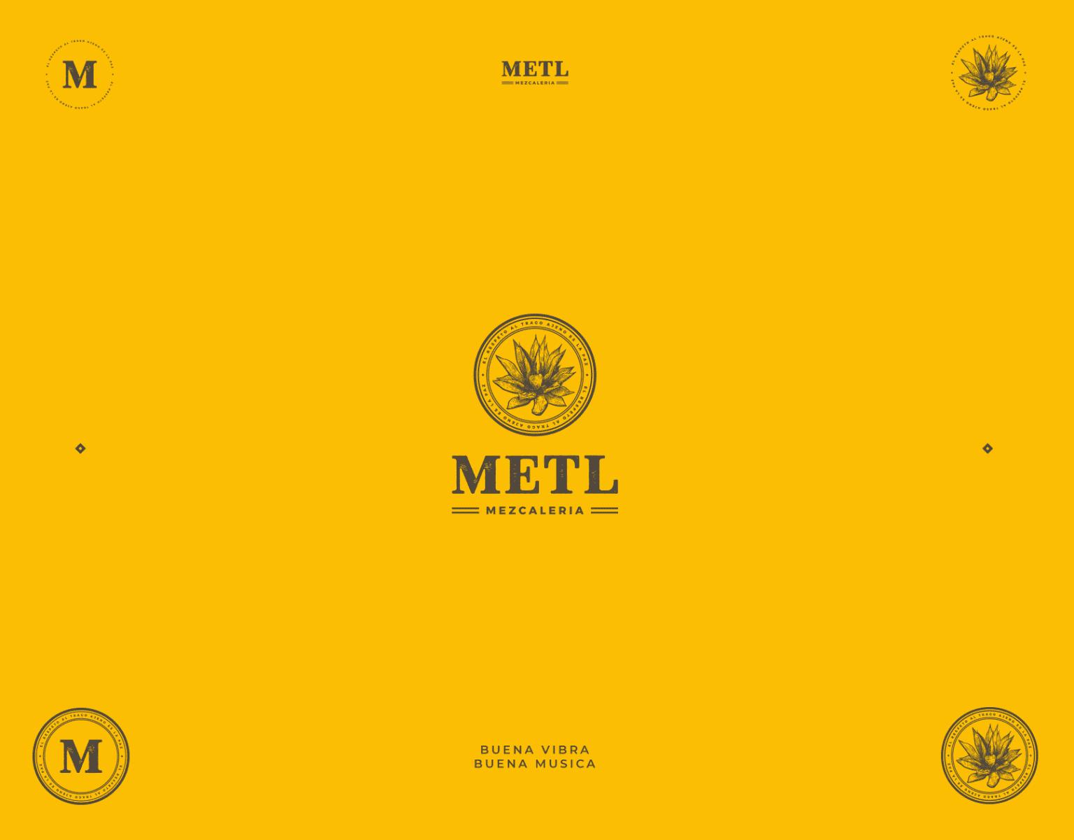 Metl Mezcaleria - Brand Identity