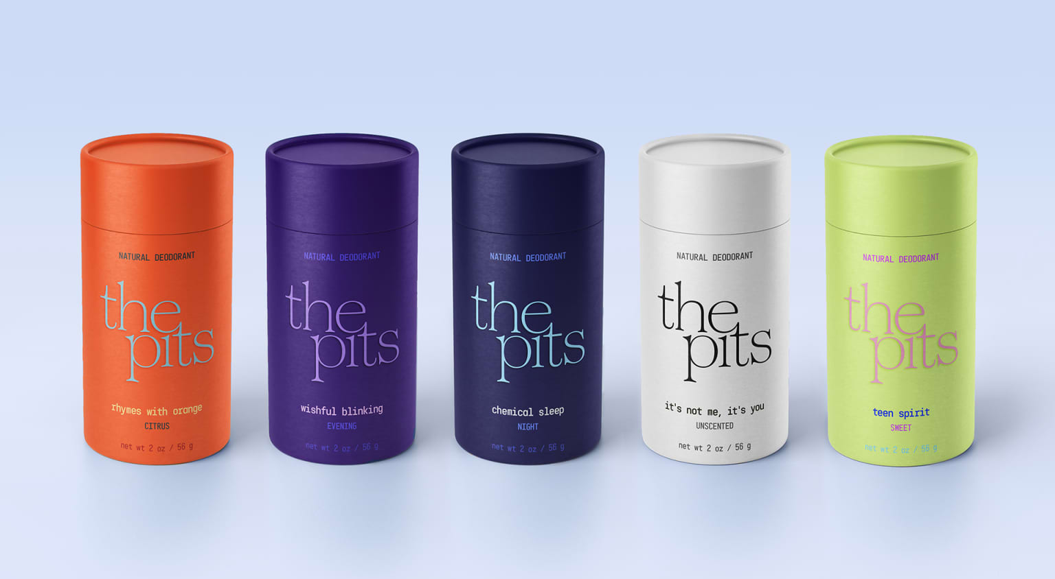 The Pits packaging