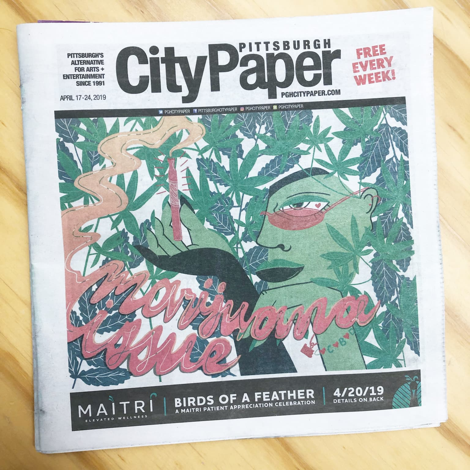 Pittsburgh City Paper Cover