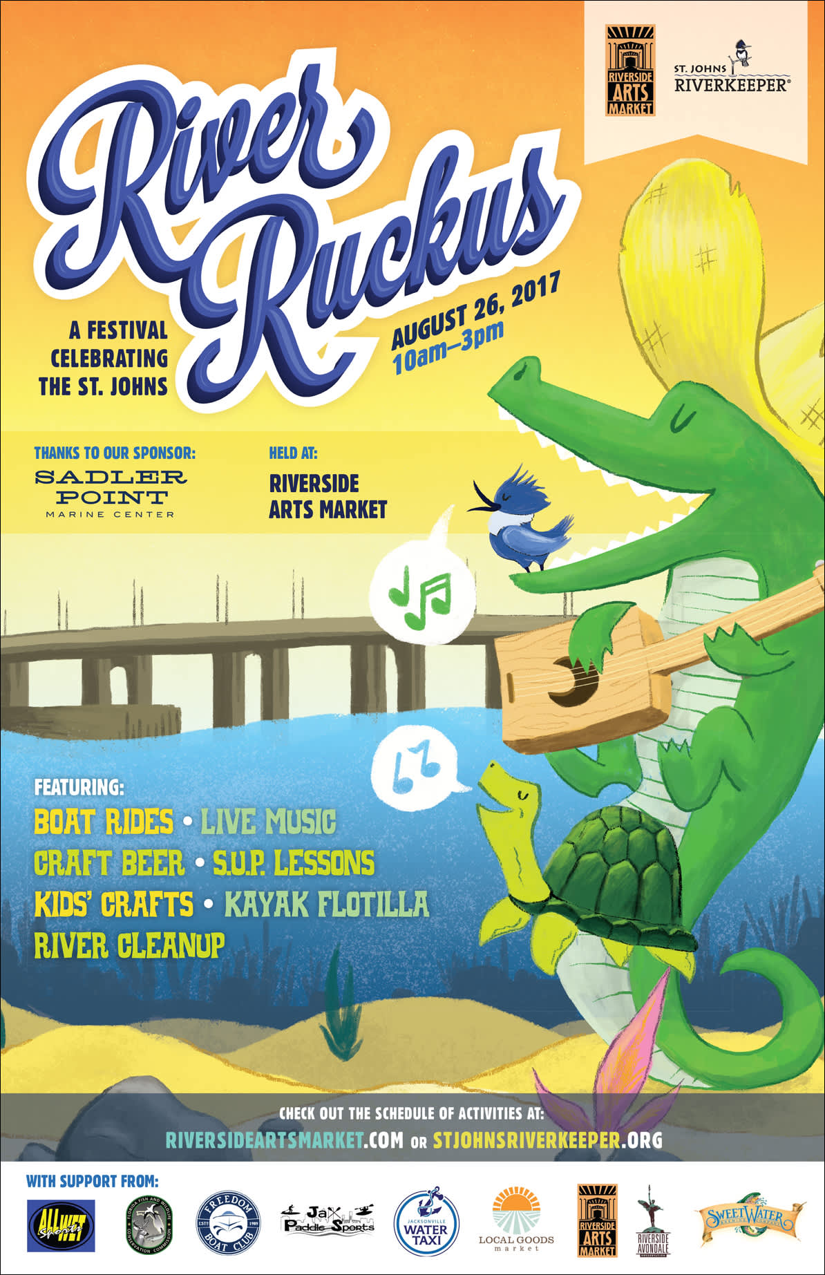 River Ruckus Event Posters