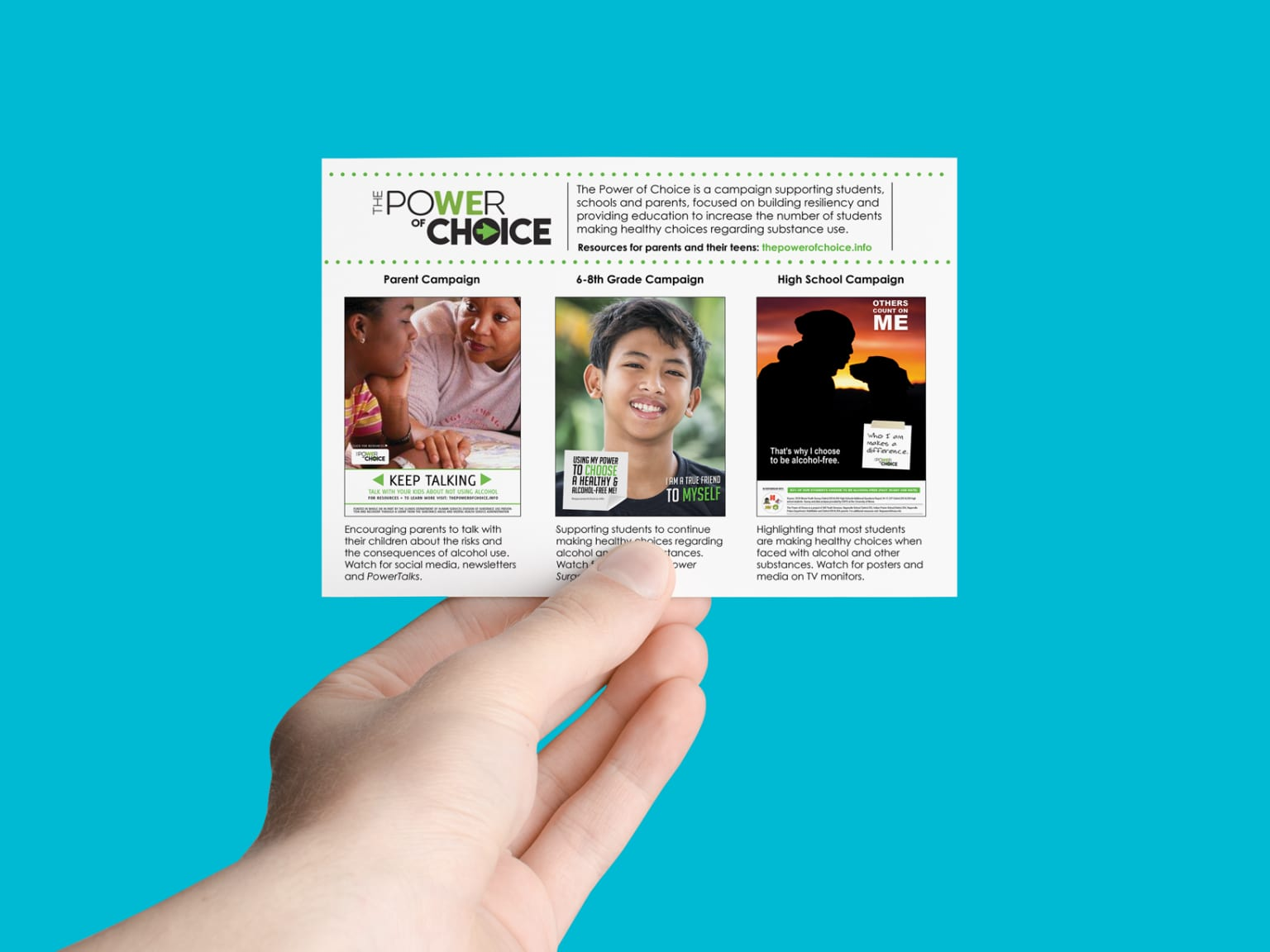 Power of Choice Promotional Materials